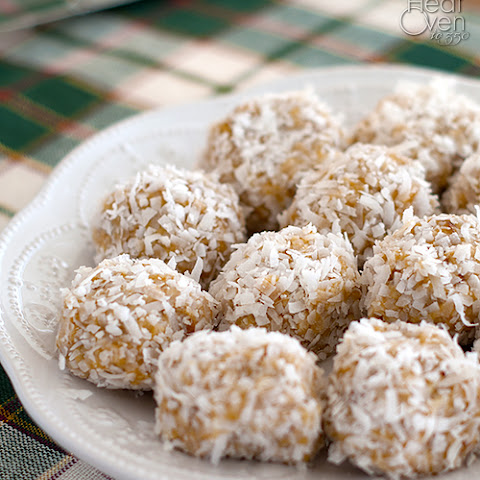 No Bake Orange Snowball Cookies