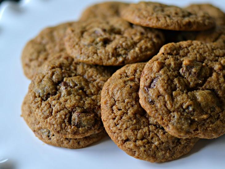 Cinnamon Espresso Chocolate Chunk Cookies Recipe | Yummly