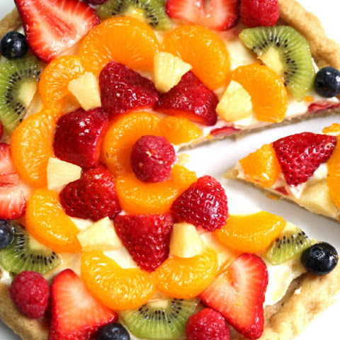 Fruity Sugar Cookie Cake