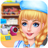 Supermarket Kids Manager FREE APK for Bluestacks