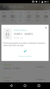 Pilates Lab - screenshot