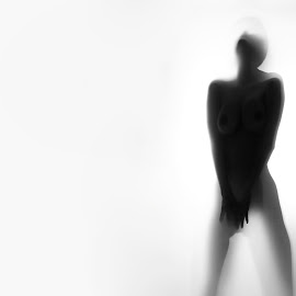Nudes_03 by Abu Naser - Nudes & Boudoir Artistic Nude ( nude, black and white, silhouette, woman, nudes )