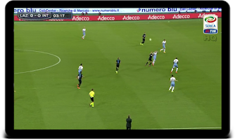 Screenshot of Serie A TIM