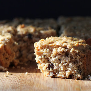 Oatmeal Peanut Butter Dried Plum Bars #TheFeelGoodFruit #CG