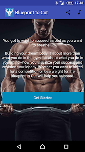 Blueprint to cut trainer bodybuilding app android fitness blueprint to cut fitness app screenshot for android malvernweather Images