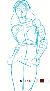 How to draw female body- screenshot thumbnail
