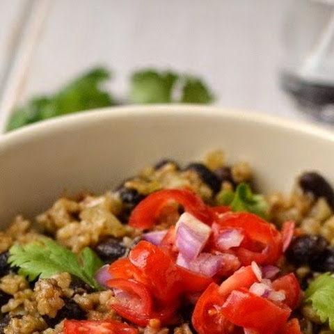 Costa Rican Refried Rice & Beans (Vegan Recipe)