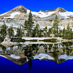 Challenge by Kenneth Glazebrook - Landscapes Mountains & Hills ( pyramid peak, california, lake aloha )