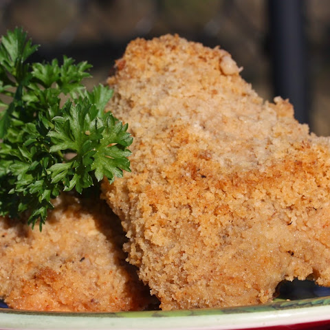 Creole Oven Fried Chicken Thighs