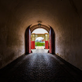 Light at the end of the Tunnel by Yash Mehta - Buildings & Architecture Other Exteriors ( copenhagen, denmark, light, travel photography, exploring, tunnel )