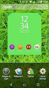 APS Theme - Shades of Green - screenshot