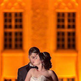 Night Love by Arya Fotoğrafçılık - Wedding Bride & Groom ( love, wedding photography, night photography, wedding, bride, groom )