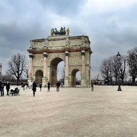 Arc de triomphe in Paris by Marco Poli - Buildings & Architecture Statues & Monuments
