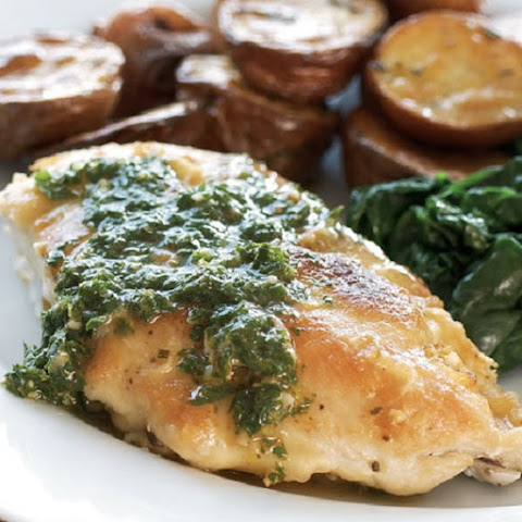 Roasted Chicken Breasts with Gremolata