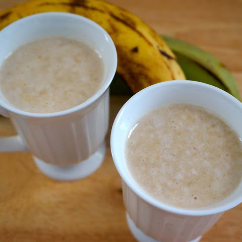 Plantain and Banana Puree