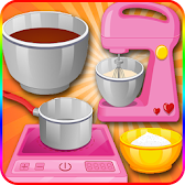 Cook Cake Games Hazelnut APK Icon