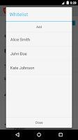 Screenshot of Calls Blacklist PRO