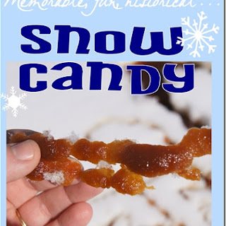 How to Make Snow Candy