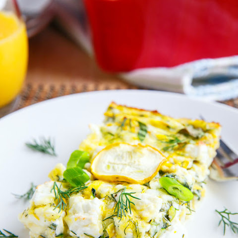 Zucchini and Feta Breakfast Casserole