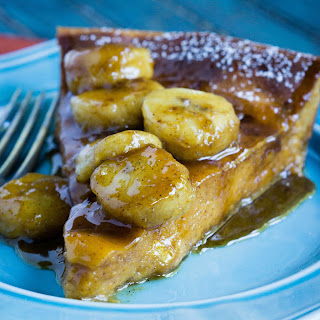 Pumpkin Skillet Crepe with Grand Marnier Bananas Foster