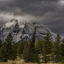 Mt. Moran Glacier by Kevin Whitaker - Landscapes Mountains & Hills ( idaho, mountains, national park, snow, travel, travel photography )