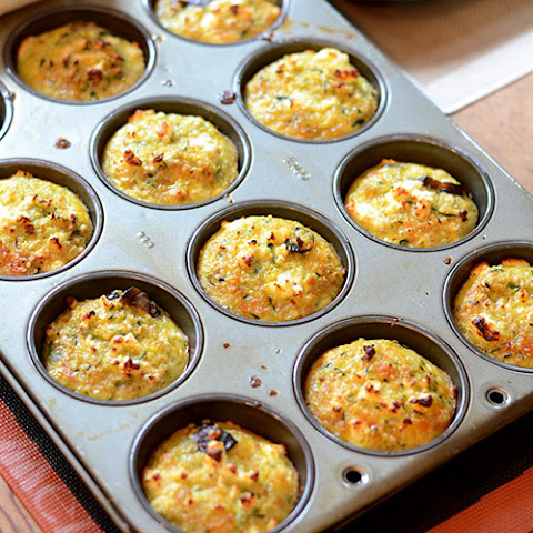 Quinoa Muffins with Zucchini & Mushrooms