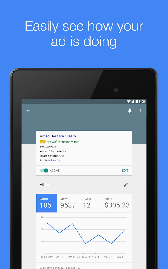 AdWords Express Screenshot 12