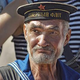 морской волк by Владимир Матва - People Portraits of Men (  )