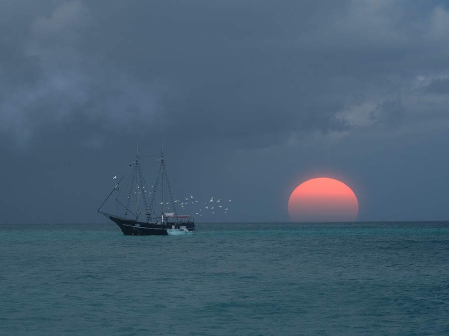 Fishermen Dreams by Jody Grenier - Landscapes Waterscapes