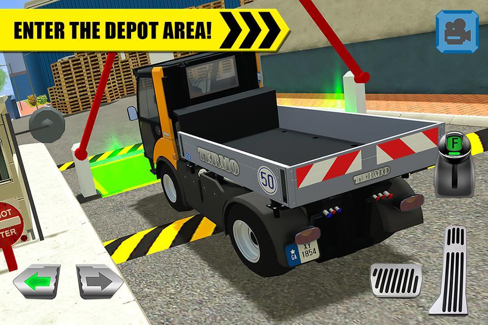 lkw fahrer depot parking simulator android spiele download. Black Bedroom Furniture Sets. Home Design Ideas