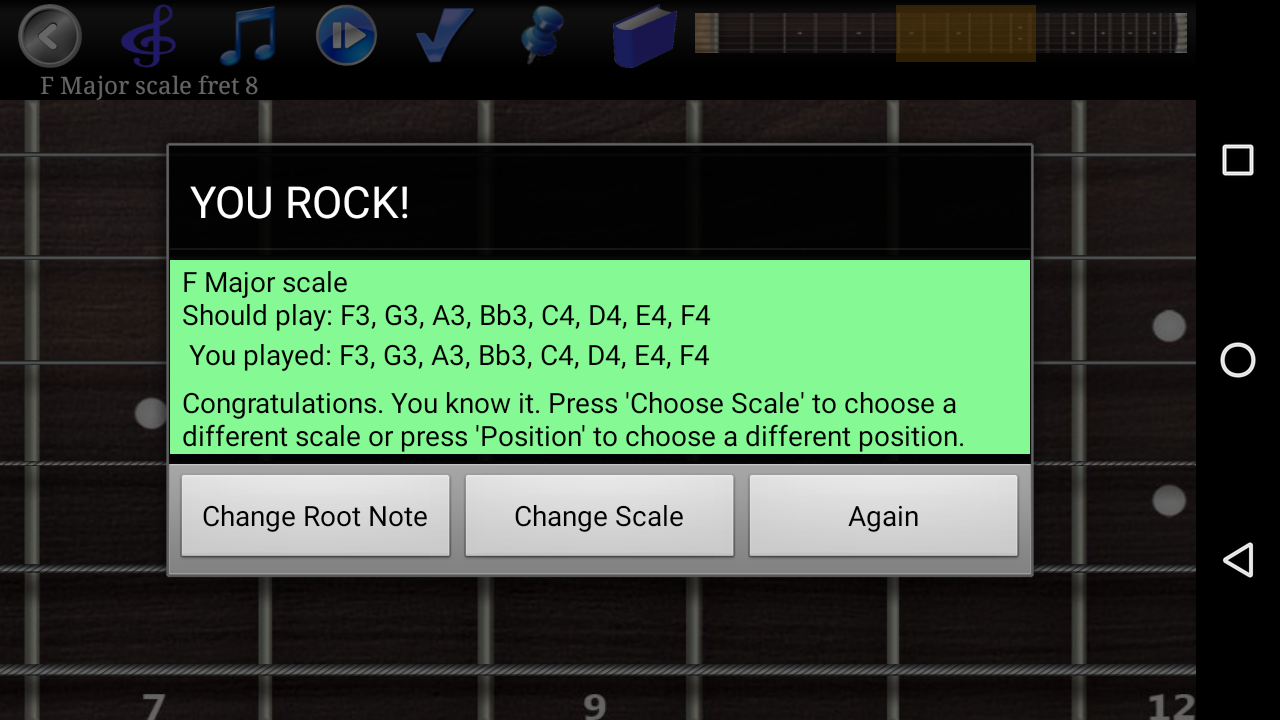 Guitar Scales & Chords Pro Screenshot 5