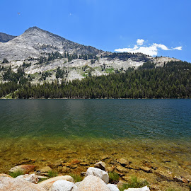 Yosemite by Marie Brown-Serrazina - Landscapes Mountains & Hills ( #mountians, #landscape, #lake, #yosemite, #nature )