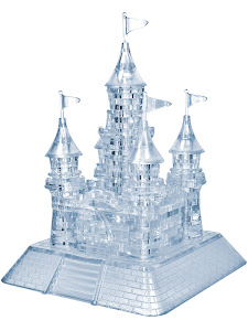 3D Crystal Puzzle Замок XL Светильник