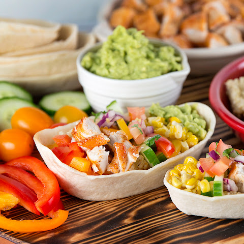 Chicken Quinoa Tortilla Bowls