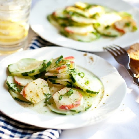Apple-cucumber Salad