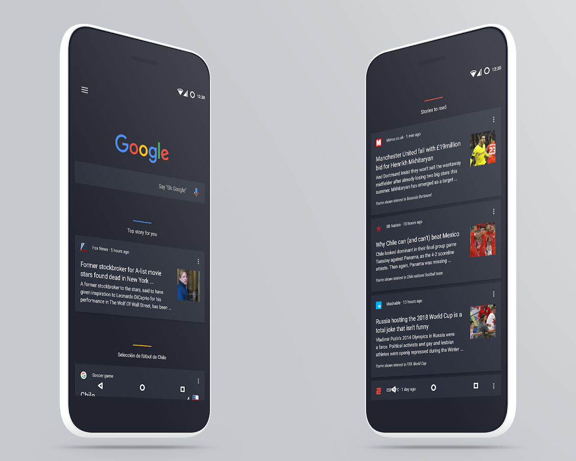 MaterialUp theme Dark! CM12 13 Screenshot 8