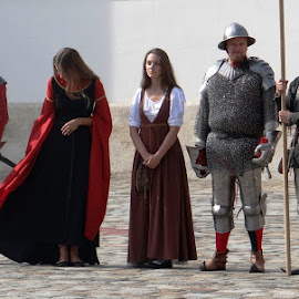 knights with maidens by Dubravka Penzić - People Group/Corporate