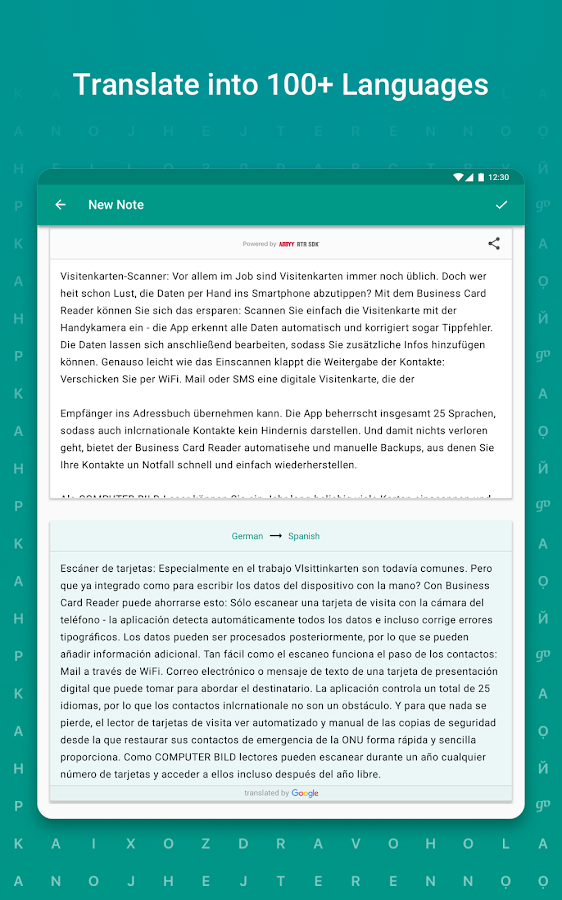TextGrabber – image to text: OCR & translate photo Screenshot 13