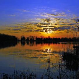 by  Jeff Hunking - Landscapes Sunsets & Sunrises