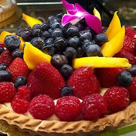 Fruit Tart by Lope Piamonte Jr - Food & Drink Cooking & Baking