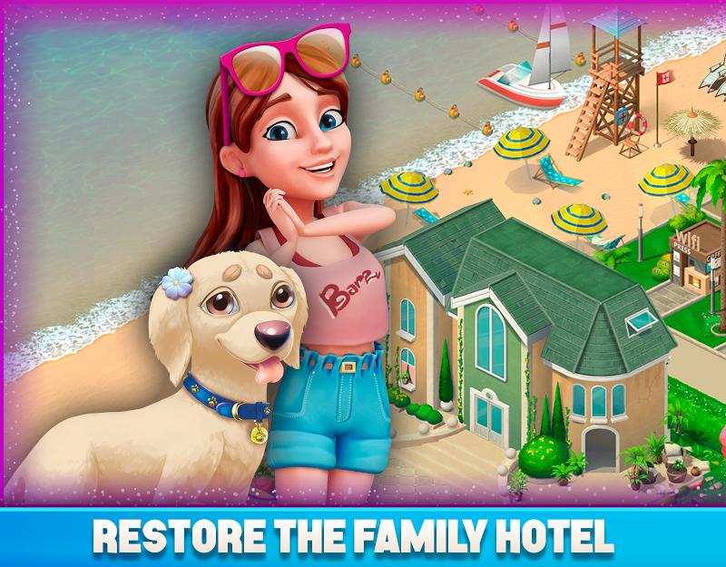 Resort Hotel: Bay Story Screenshot 8