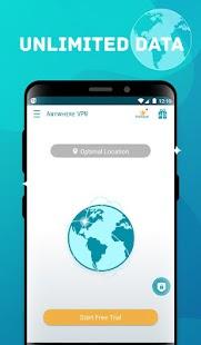 Anywhere VPN -Secure Free Unlimited VPN Proxy WiFi