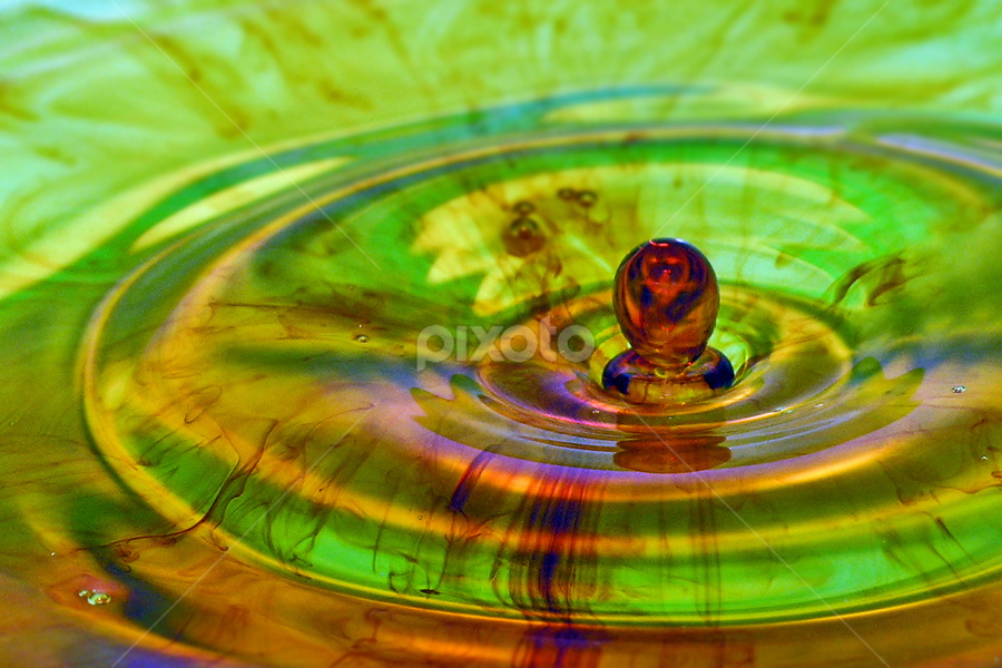 by Jasenka LV - Abstract Water Drops & Splashes ( water, splash, water drop ,  )