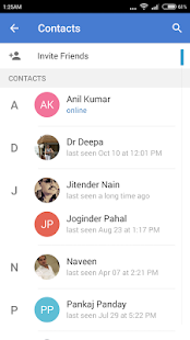 kihaal chat messenger - screenshot