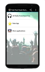 Punk Rock Radio Stations Free - screenshot