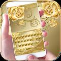 App Gold Rose Keyboard Theme APK for Windows Phone