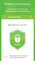 Screenshot of Mic Block - Anti spy & malware
