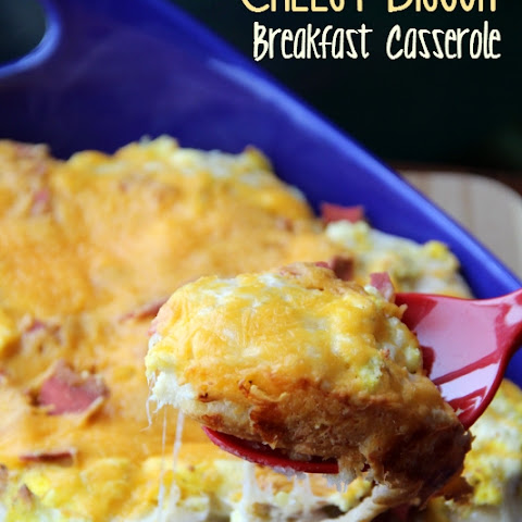 Cheesy Biscuit Breakfast Casserole