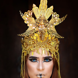 indonesian culture by Anthony Bagaskara - People Portraits of Women