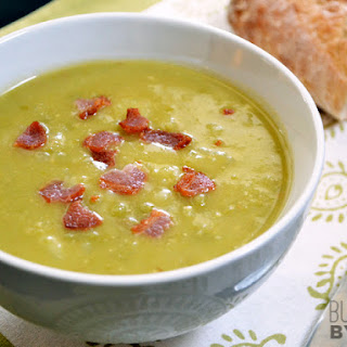 Split Pea, Bacon & Potato Soup